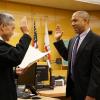 Former deputy public defender Christopher Hite sworn in today as a San Francisco Superior Court judge